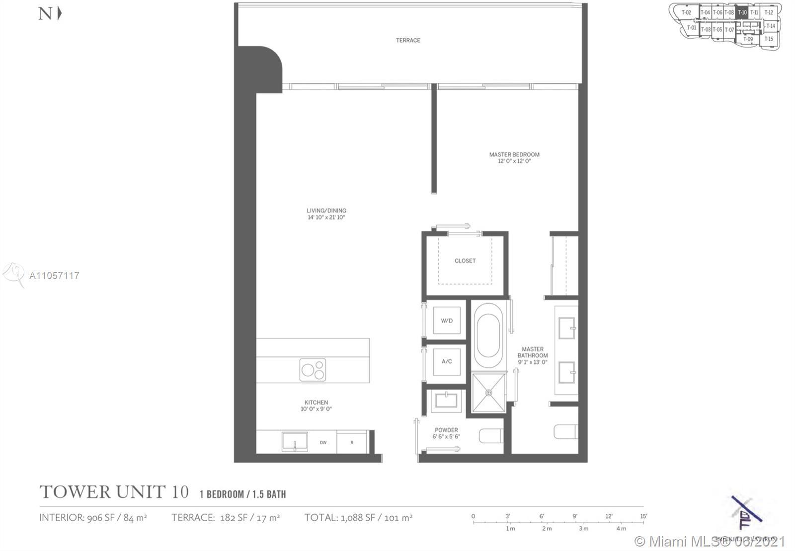 Brickell FlatIron #3610 - 1000 Brickell Plz #3610, Miami, FL 33131