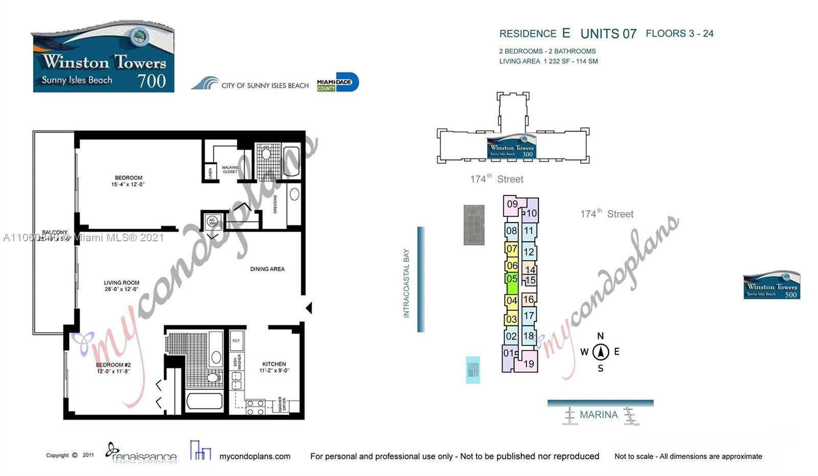 Winston Tower 700 #307 - 290 174th St #307, Sunny Isles Beach, FL 33160