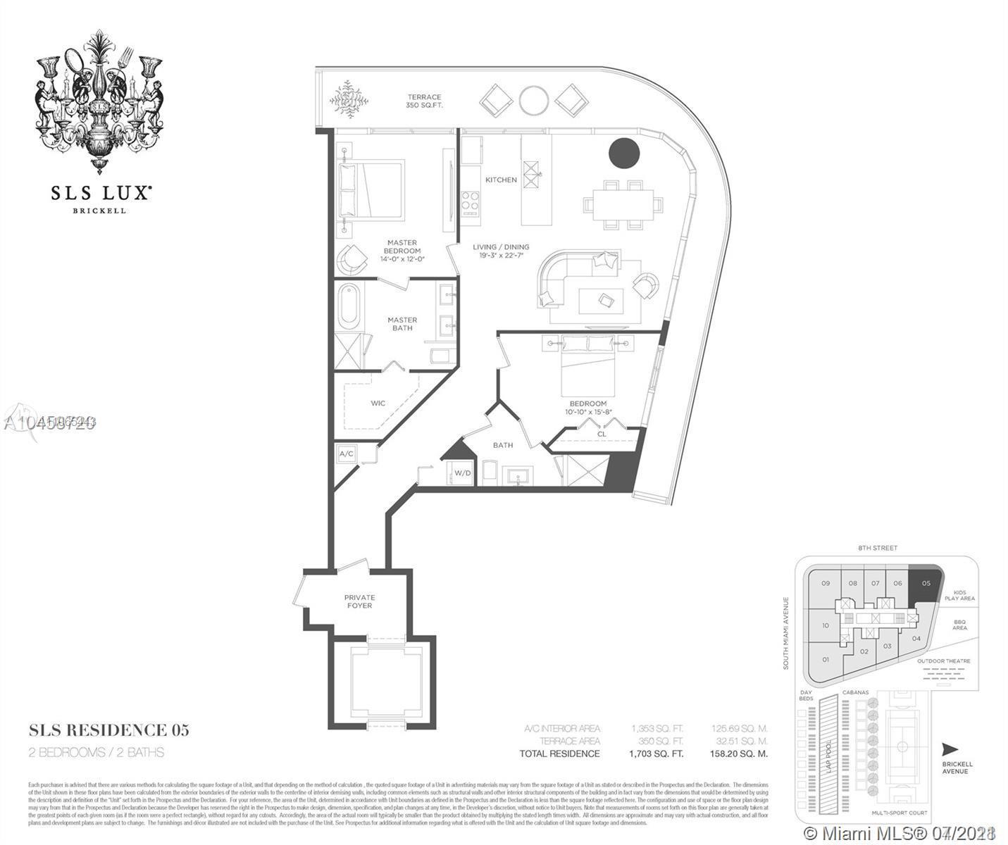SLS Lux Brickell #1805 - 25 - photo
