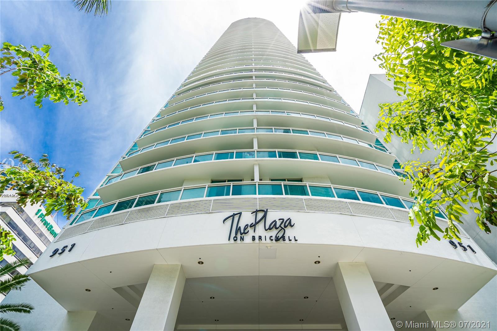 The Plaza on Brickell 2 #1602 - 951 Brickell Ave #1602, Miami, FL 33131
