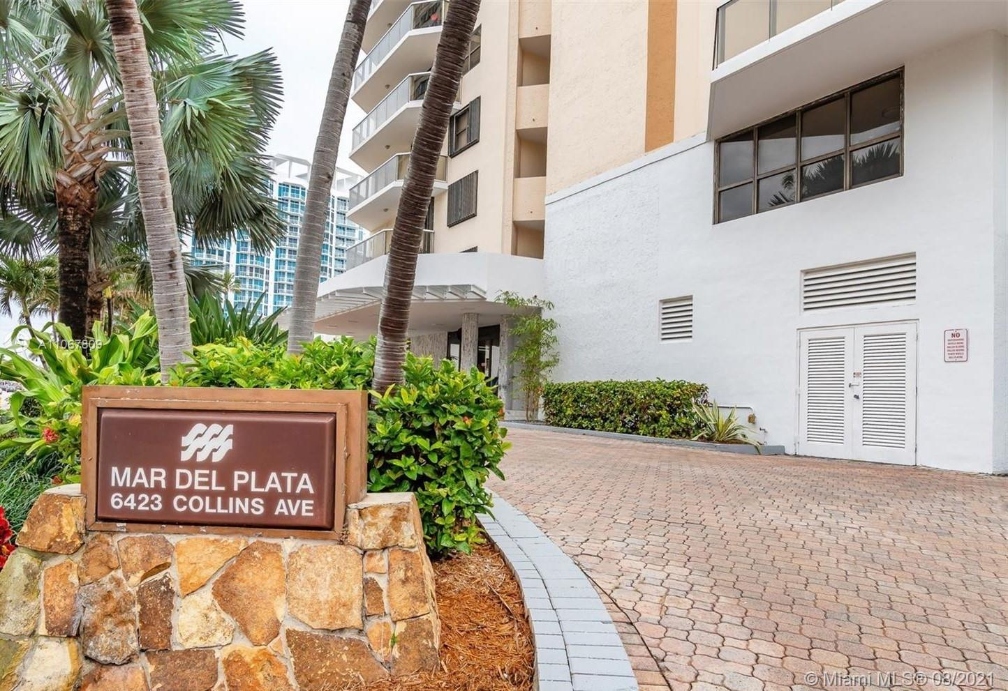 Mar del Plata #203 - 6423 Collins Ave #203, Miami Beach, FL 33141