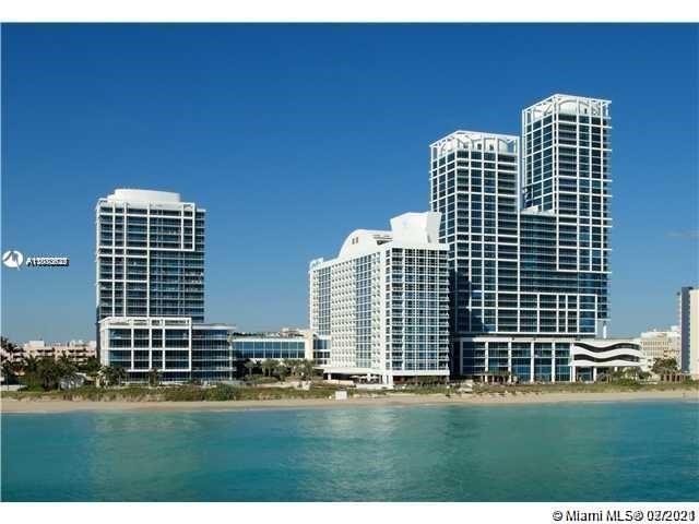 Carillon Hotel Tower #702 - 6801 Collins Ave #702, Miami Beach, FL 33141