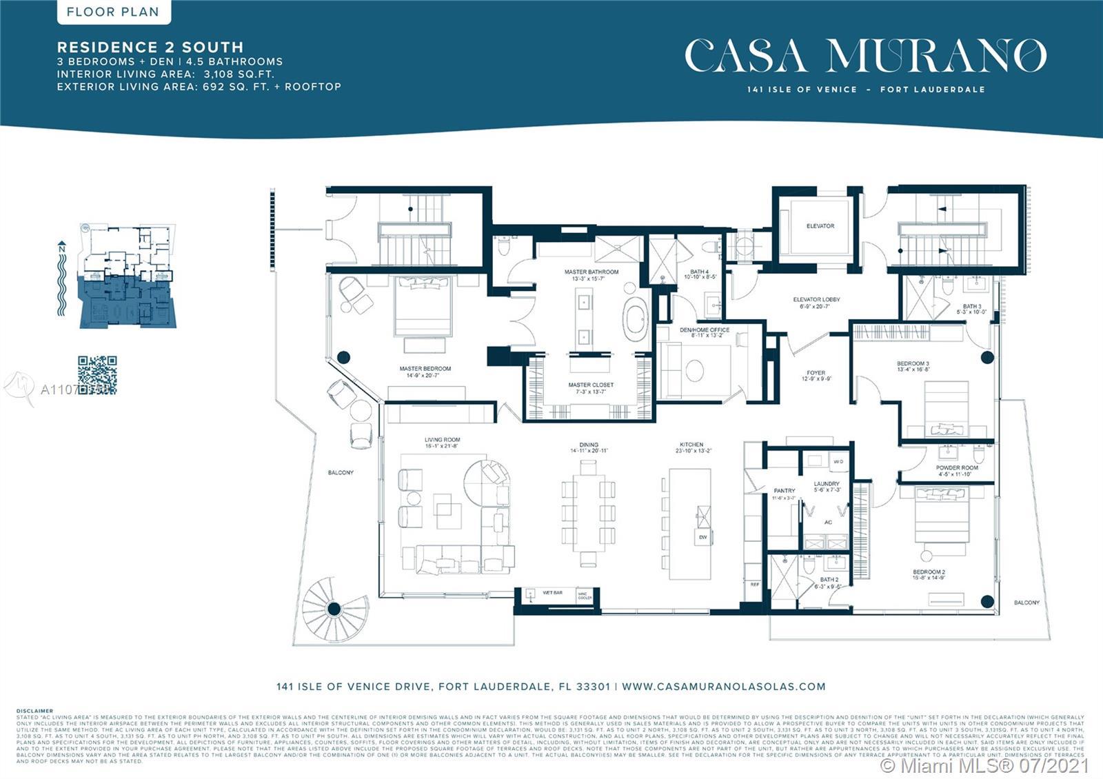 Photo of Casa Murano Las Olas Apt 2 South