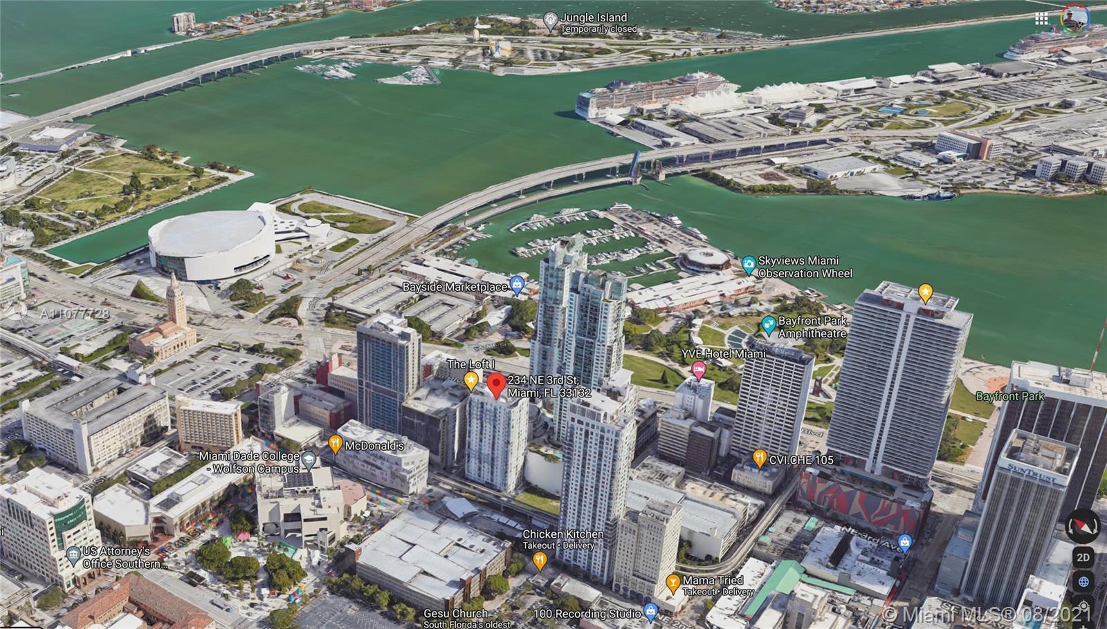 The Loft Downtown #2107 - 234 NE 3rd St #2107, Miami, FL 33132