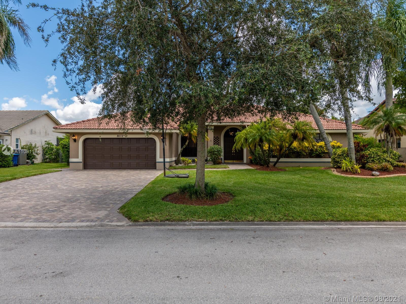 Property for sale at 8672 NW 57th Ct, Coral Springs,  Florida 33067