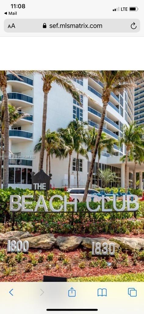 Beach Club III #3409 - 1800 S Ocean Dr #3409, Hallandale Beach, FL 33009