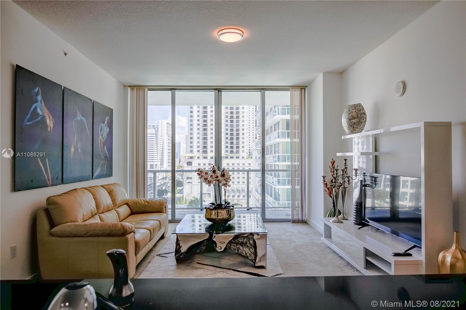 Axis on Brickell South Tower #1410-S - 79 SW 12th St #1410-S, Miami, FL 33130