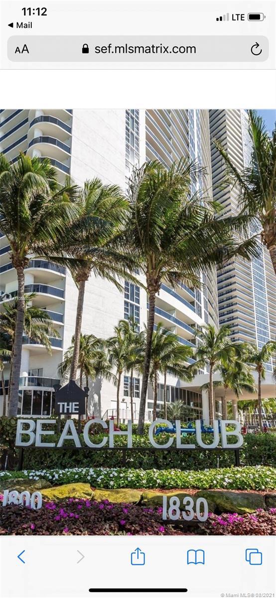 Beach Club III #3607 - 1800 S Ocean Dr #3607, Hallandale Beach, FL 33009