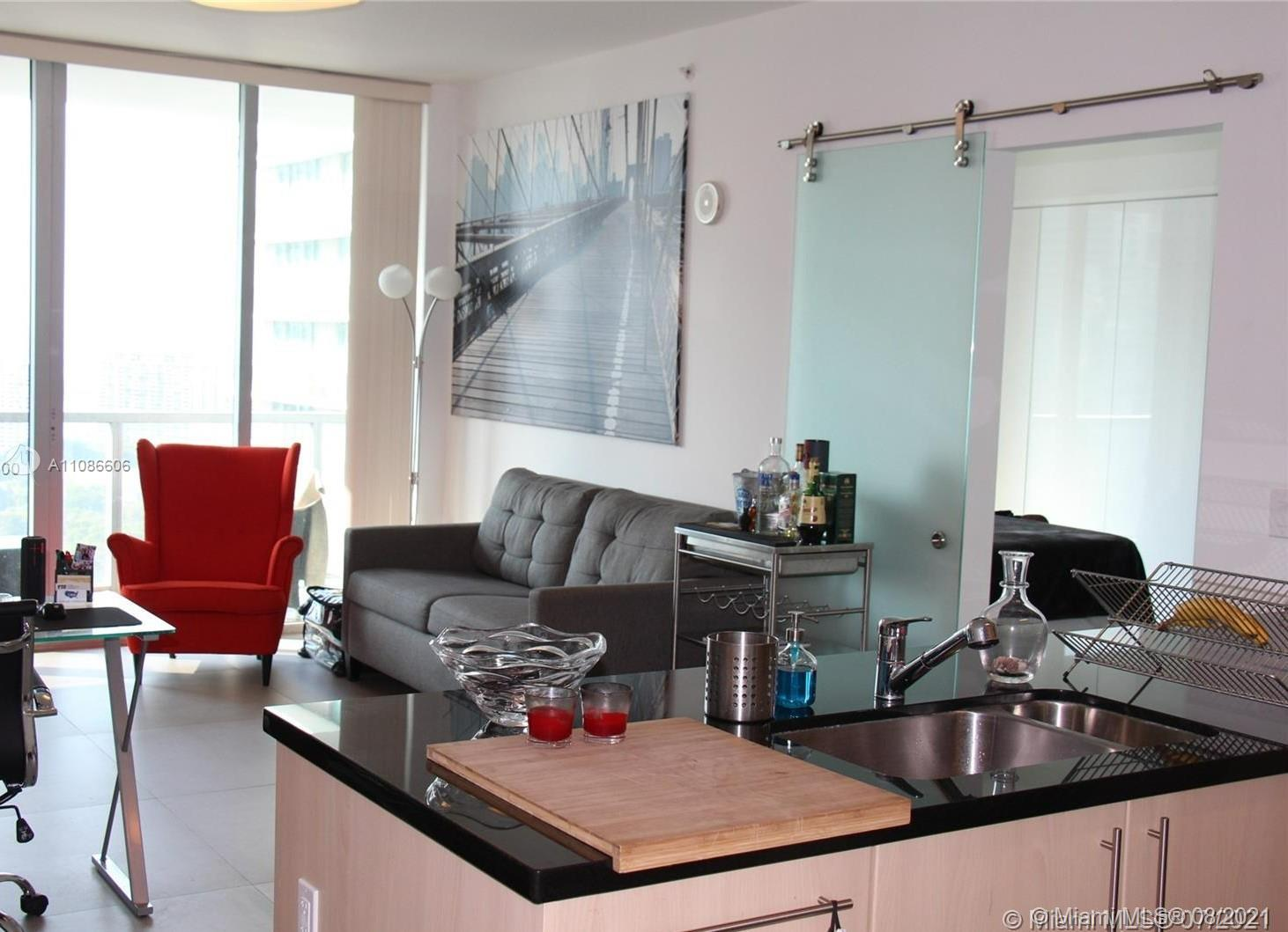 Axis on Brickell North Tower #3118-N - 1111 SW 1st Ave #3118-N, Miami, FL 33130