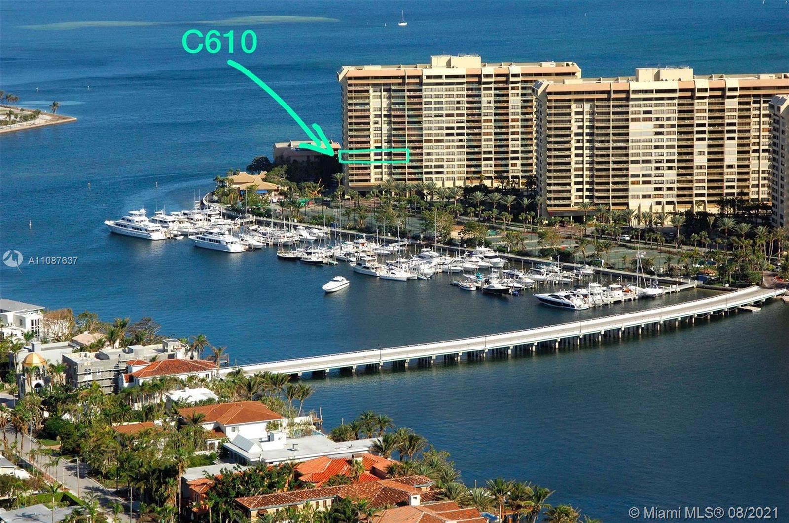 Grove Isle 3 #C610 - 3 Grove Isle Dr #C610, Miami, FL 33133