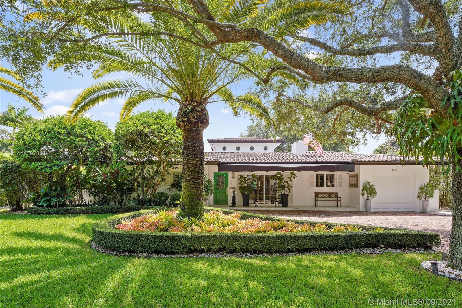 Single Family Home,For Sale,1118 Placetas Ave, Coral Gables, Florida 33146,Brickell,realty,broker,condos near me