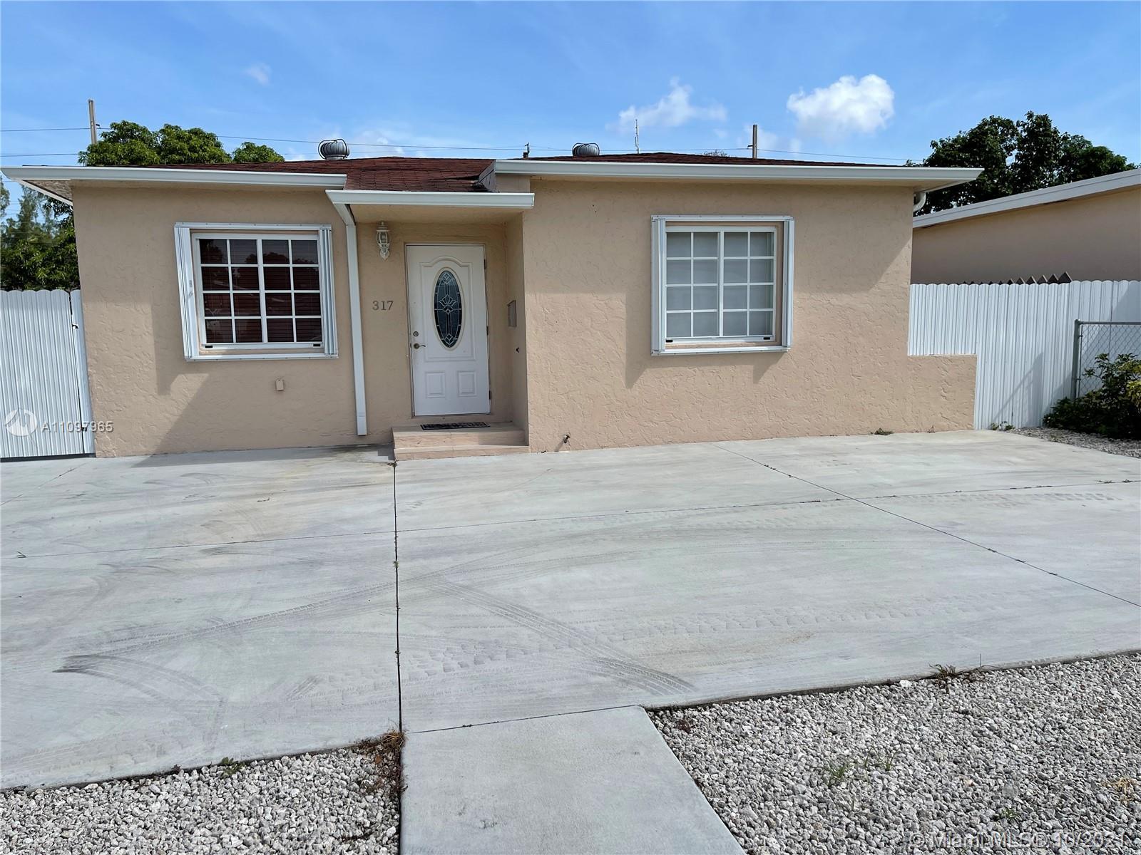 Single Family Home For Sale HIALEAH 3RD ADDN776 Sqft