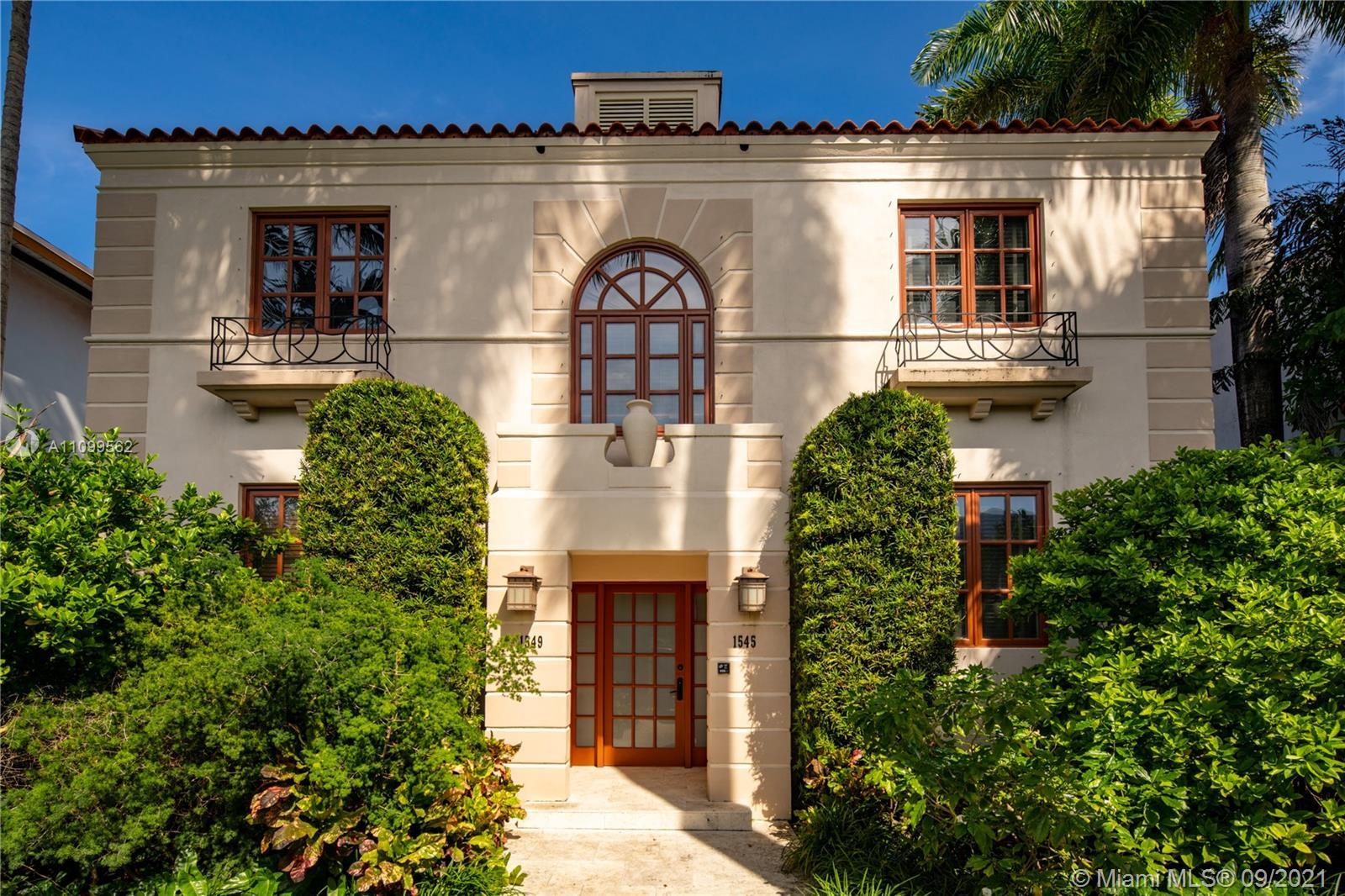 Single Family Home,For Rent,1545 Pennsylvania Ave, Miami Beach, Florida 33139,Brickell,realty,broker,condos near me