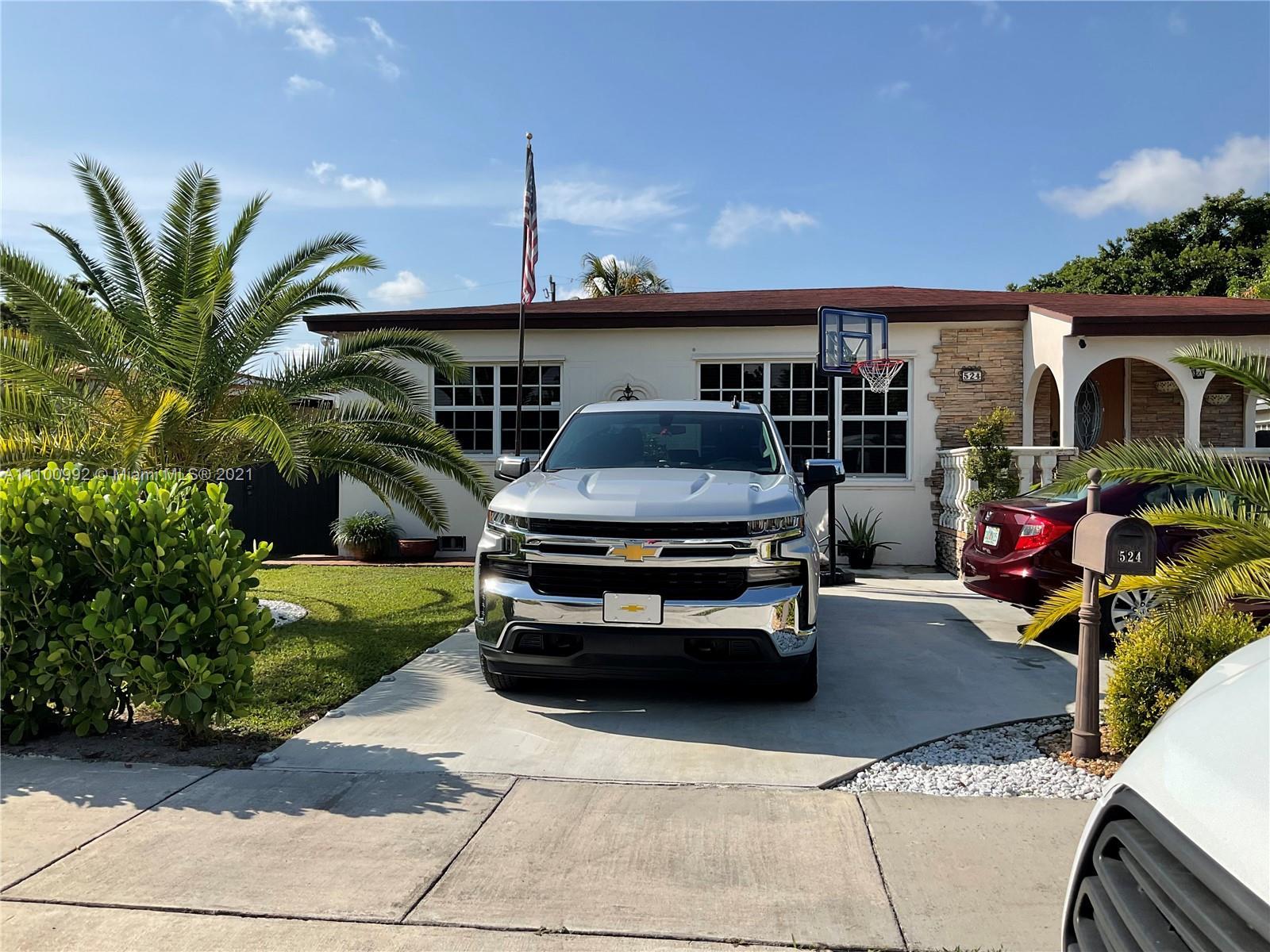 Single Family Home For Sale HIALEAH 13TH ADDN AMD PL2,488 Sqft