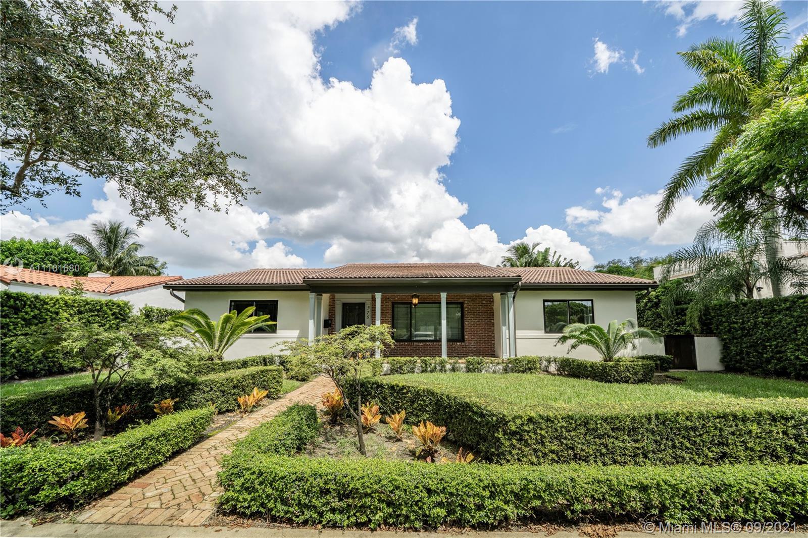 Single Family Home For Rent MIAMI SHORES SEC 1 AMD,Miami Shores2,496 S