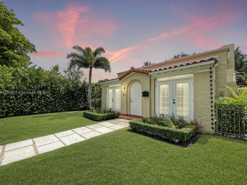 Single Family Home,For Sale,1212 San Miguel Ave, Coral Gables, Florida 33134,Brickell,realty,broker,condos near me
