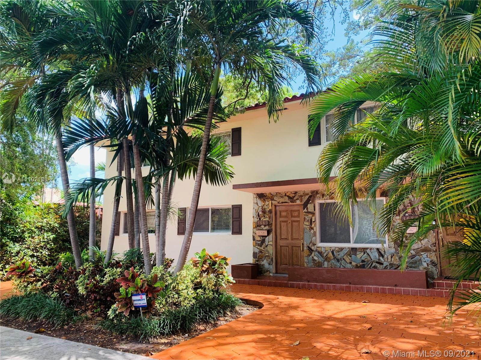 Single Family Home,For Rent,3685 SW 3rd Ave, Miami, Florida 33145,Brickell,realty,broker,condos near me