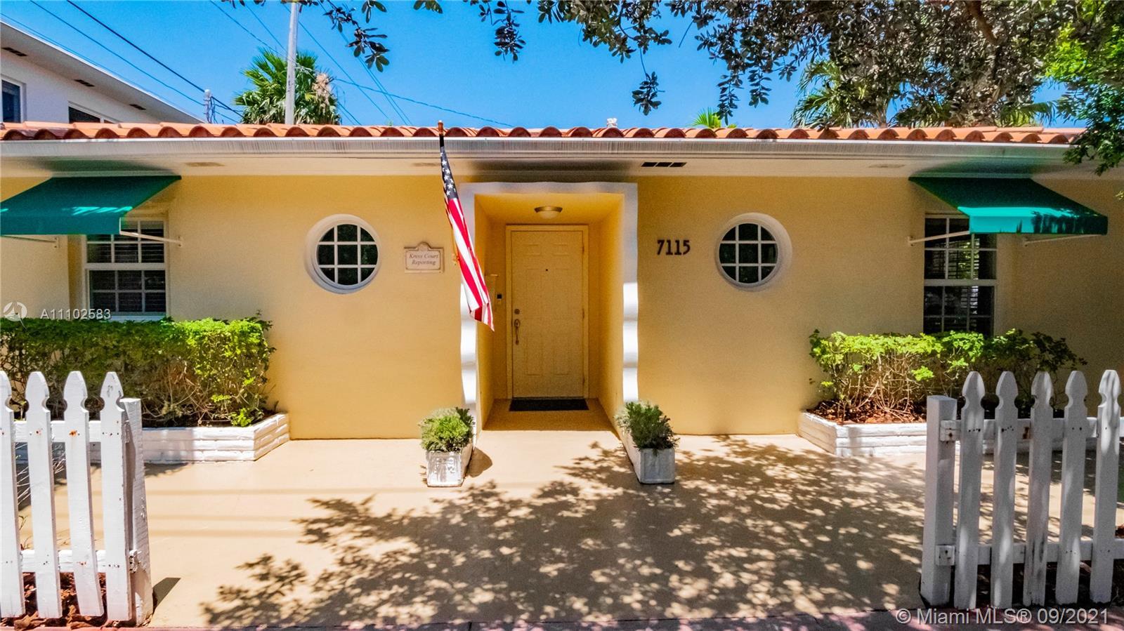 Single Family Home,For Sale,7115 Rue Notre Dame, Miami Beach, Florida 33141,Brickell,realty,broker,condos near me