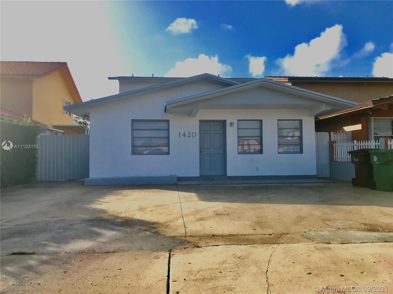 Single Family Home,For Sale,1420 W 39th PL, Hialeah, Florida 33012,Brickell,realty,broker,condos near me