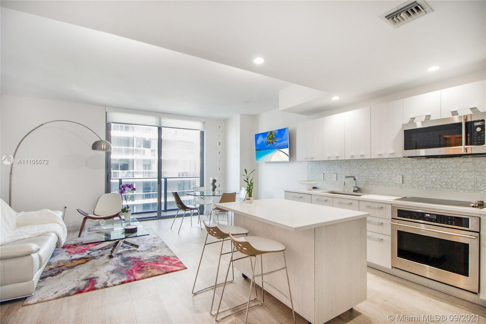 Brickell Heights West Tower #3802 - 55 SW 9th St #3802, Miami, FL 33130