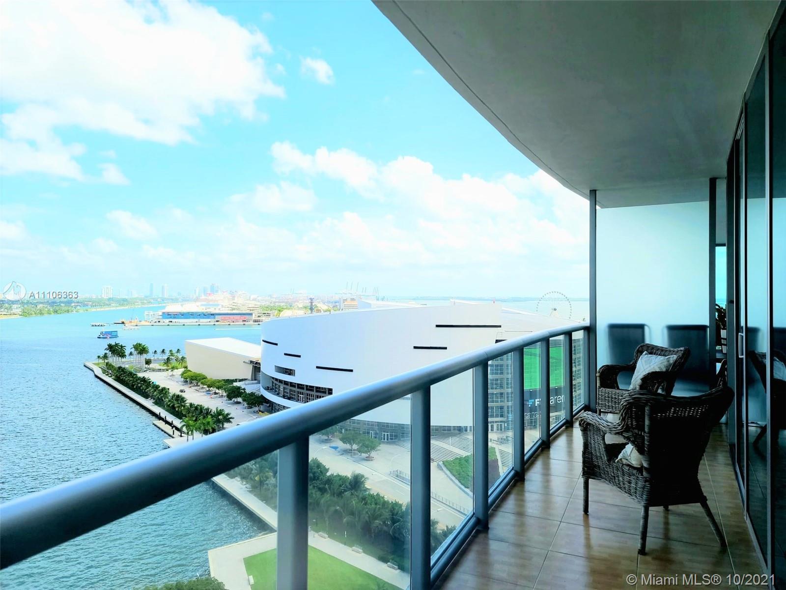 Marina Blue #1610 - 888 Biscayne Blvd #1610, Miami, FL 33132