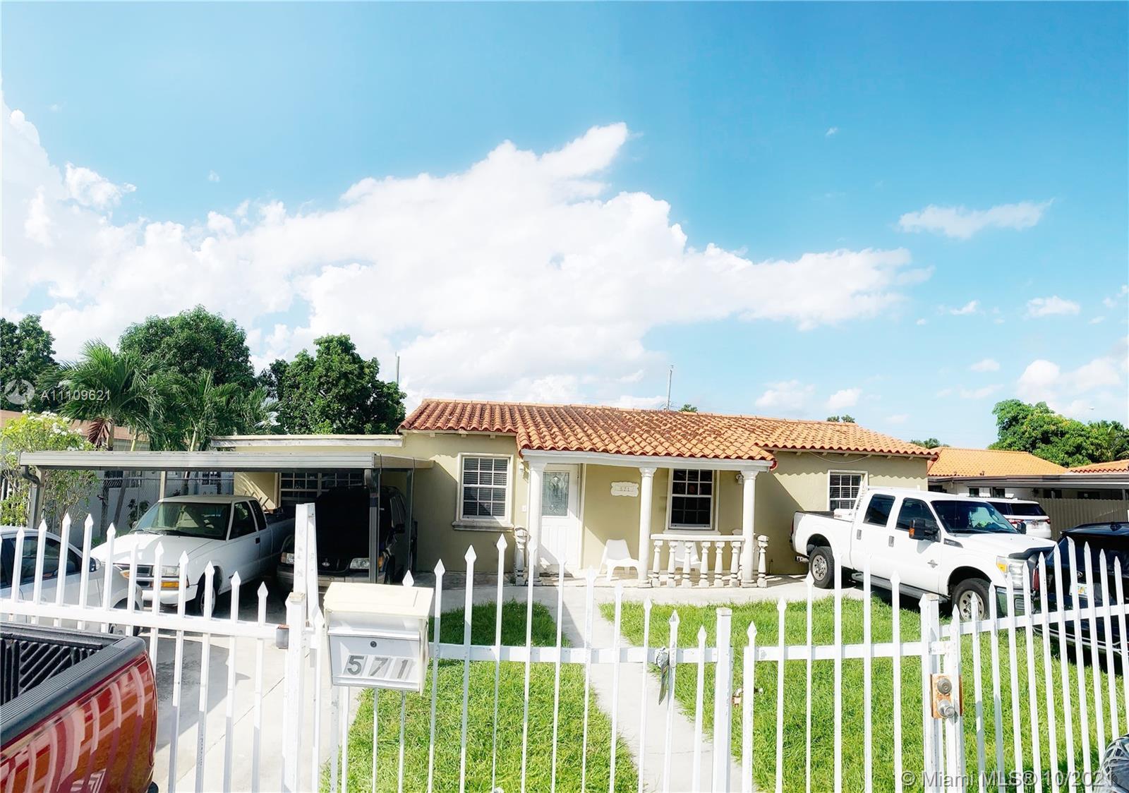Single Family Home,For Sale,571 E 35th St, Hialeah, Florida 33013,Brickell,realty,broker,condos near me