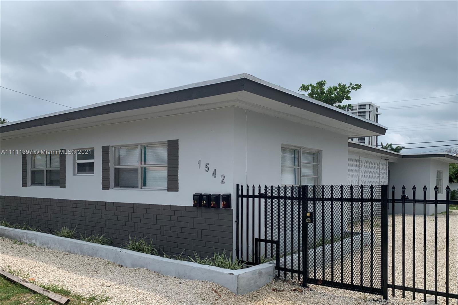 1542 NE 109th St, Miami, Florida 33161, ,Residential Income,For Sale,109th St,A11111397