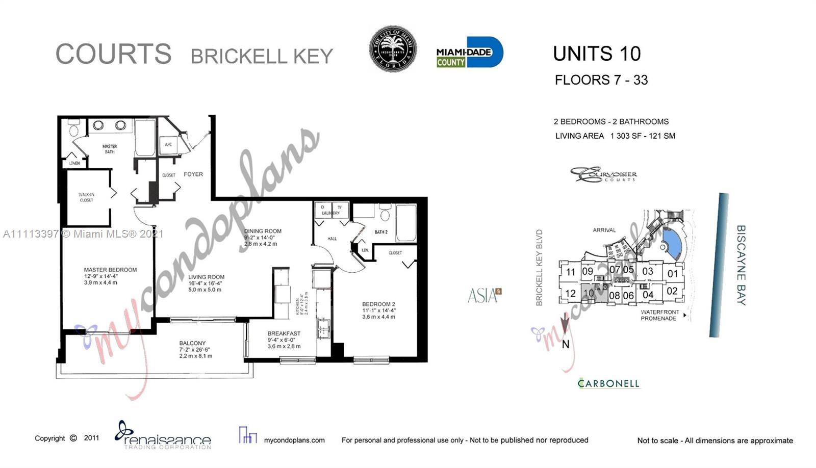 801 Brickell Key Blvd #1510 photo019