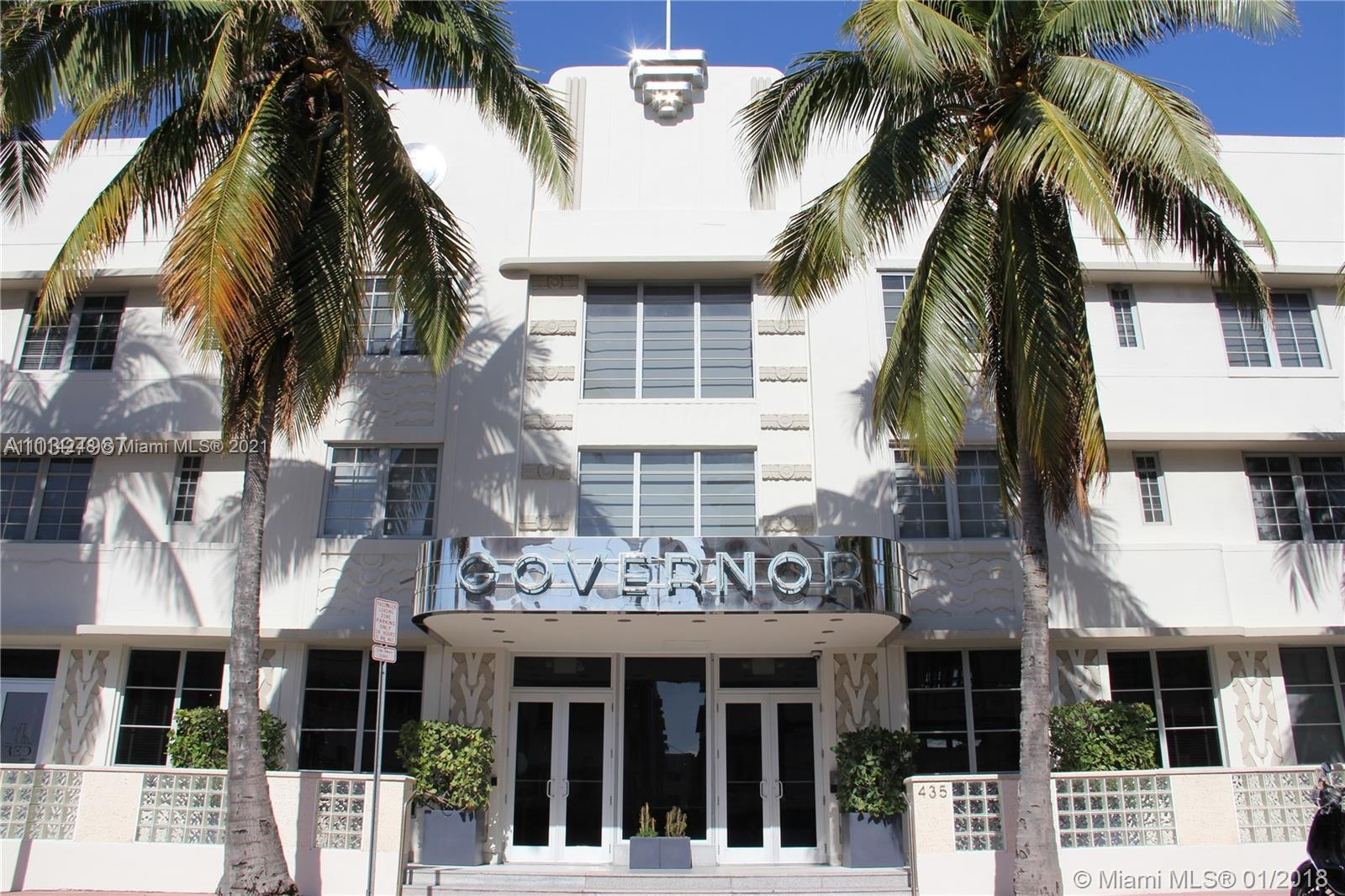 The Governor #109 - 435 21st St #109, Miami Beach, FL 33139