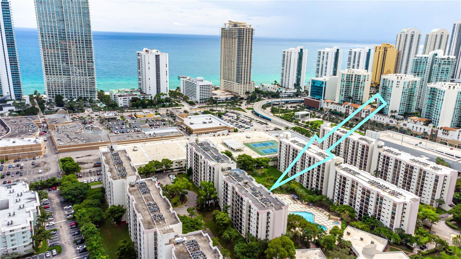 Plaza of the Americas 3 #608 - 17011 N Bay Rd #608, Sunny Isles Beach, FL 33160
