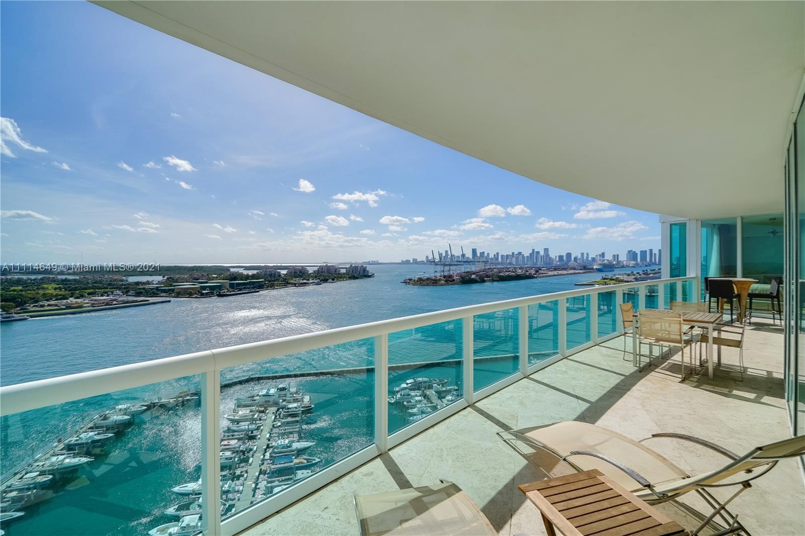 Murano At Portofino #1802 - 1000 S Pointe Dr #1802, Miami Beach, FL 33139