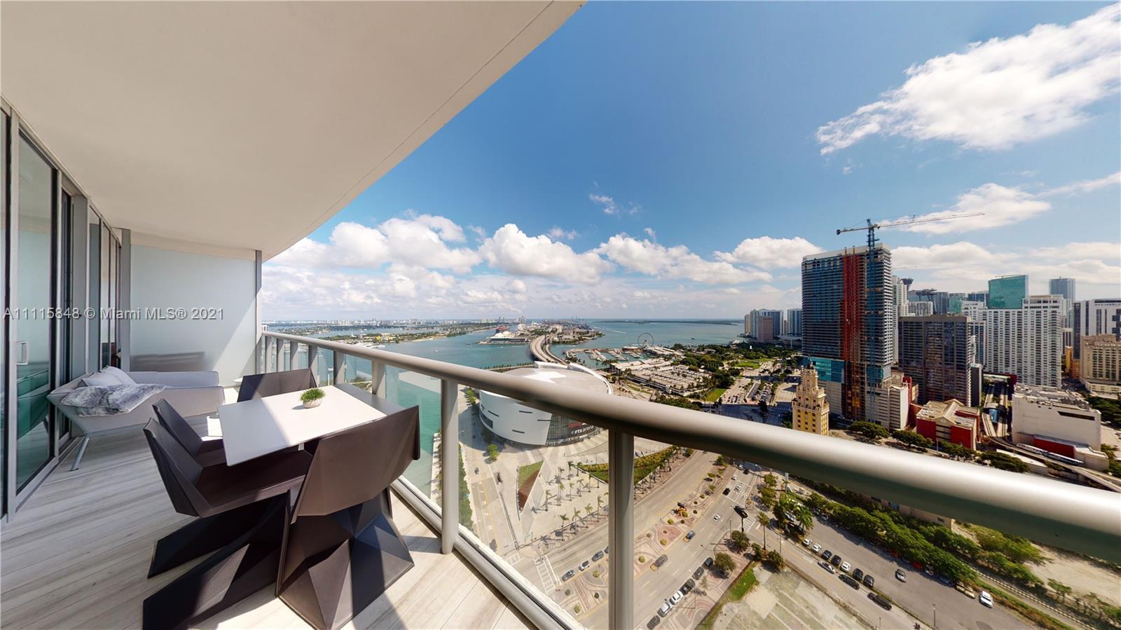 Marina Blue #3503 - 888 Biscayne Blvd #3503, Miami, FL 33132