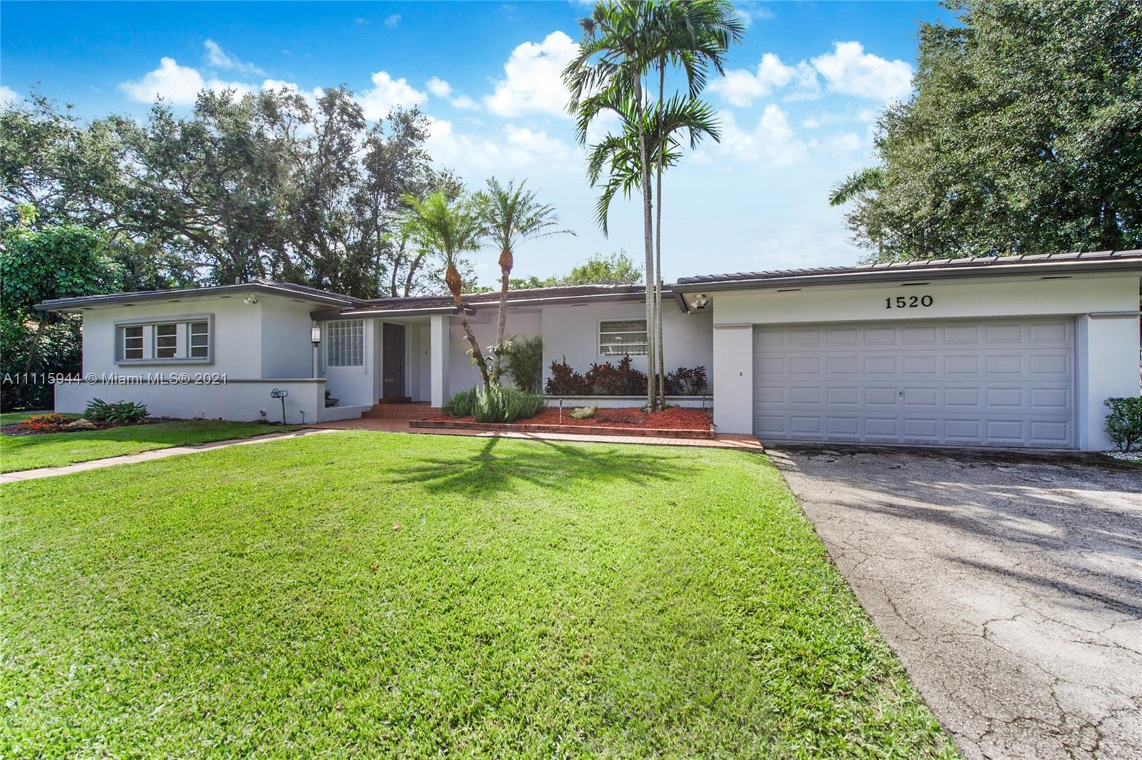 Single Family Home,For Sale,1520 Miller Rd, Coral Gables, Florida 33146,Brickell,realty,broker,condos near me