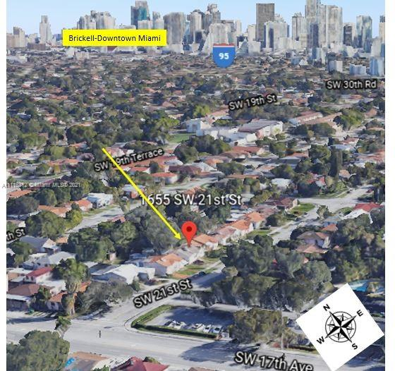 1655 SW 21 Street, Miami, Florida 33145, ,Residential Income,For Sale,21 Street,A11116312
