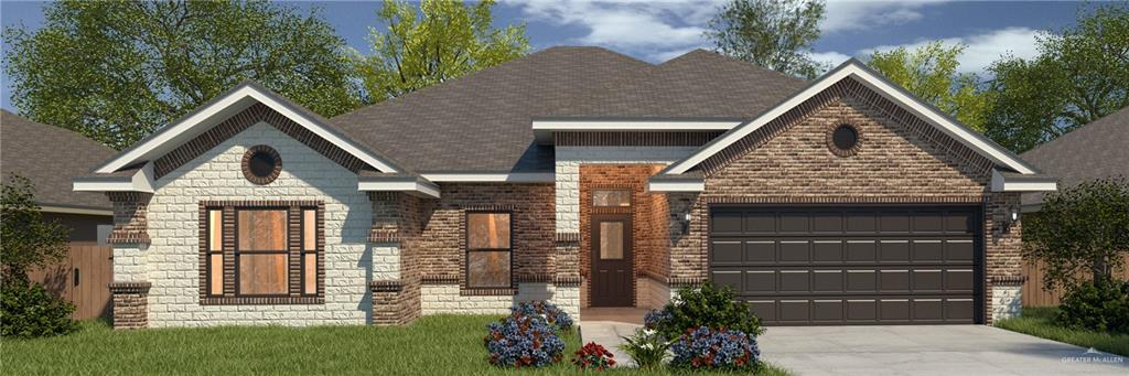 ***Nearly Completed***Beautiful Westwind home under construction in the brand new Cobblestone Subdivision within Sharyland ISD!  This lovely home features 3 bedrooms, 2.5 baths, 2 car garage, decorative high ceilings, granite countertops, and tile flooring throughout.  The amazing kitchen boasts an over-sized island with seating perfect for entertaining, walk-in pantry, large apron sink, and a built in wine rack/coffee bar.  The open concept floor plan is ideal for gathering friends and family.  The split floor plan is perfect for privacy, and the large master bedroom and en suite provide a wonderful get away.  This delightful home is Energy Star certified and comes with a 1 year new construction warranty as well as a 2-10 warranty.  Schedule your showing today! Don't miss out on this beauty! **Closing cost assistance!**