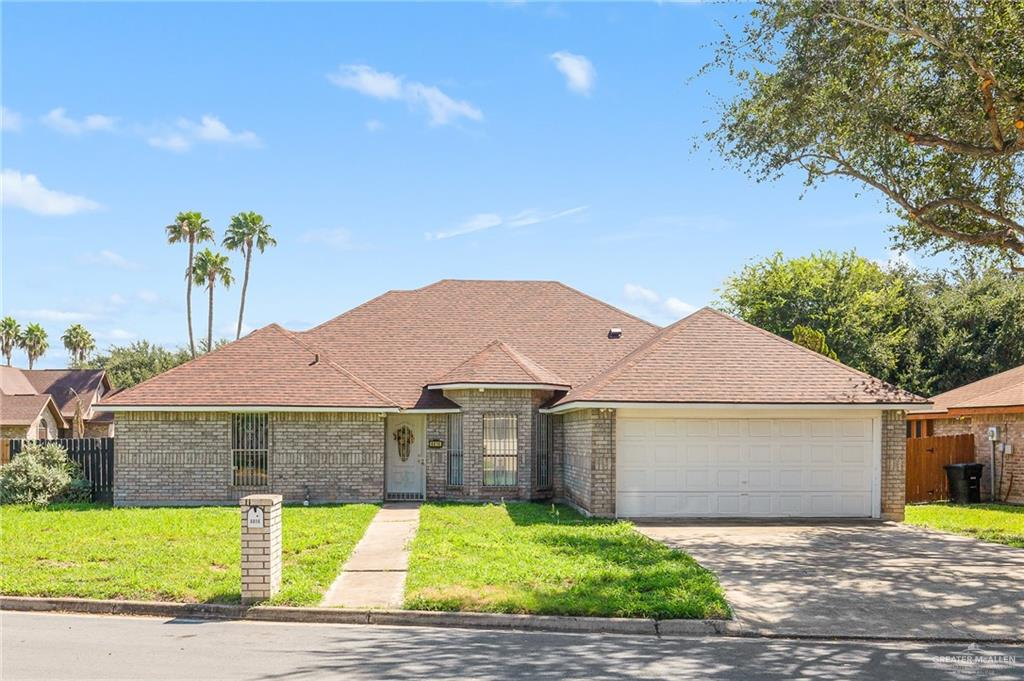 Are you looking for a House in North Mcallen , with great school district , shopping centers near by and more? Look no further. This is it . This great Starter Home has 4 bedrooms, 3 Baths , a very Space full back yard and More.   Make your appointment today.  This house is going fast. Dont miss the opportunity to see it
