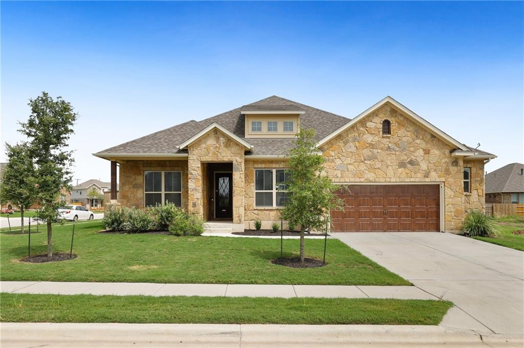 Don't wait to build when you can buy move-in ready with many upgrades in this Paloma Lake home. 4 bedrooms, 2 full baths + 2 half baths, AND a 2 1/2 car garage. Huge bonus room upstairs with its own 1/2 bath and attic storage closet. Separate A/C upstairs. Granite/SS kitchen, 8' doors, trayed ceiling in MB, jacuzzi tub, rain shower, surround sound in LR, upgraded blinds w/no strings, this home really has it all! M/I Homes same as the Channing model plan. A Must See!
