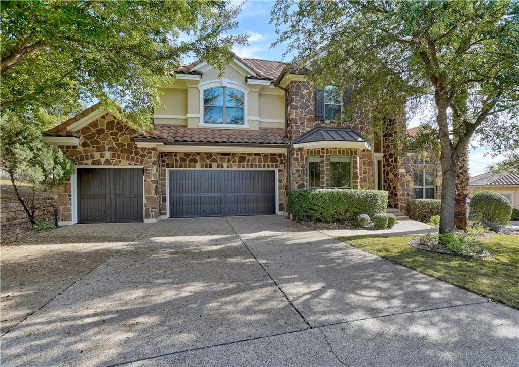Beautiful 2 story home in the back of cul de sac in coveted gated UT Golf Club! Be greeted by a massive entry with formal living and office. Open floor plan with large living overlooking custom kitchen and breakfast nook. The 1st floor master has his and her sinks and an enormous closet. There are 2 outdoor covered living areas, with the 2nd floor balcony overlooking the 11th tee. All bedrooms are spacious and have large closets. There is also a media room and game room upstairs. Enjoy the conveniences of the community such as multiple pools, running and biking paths, optional golf course membership just a golf cart ride away, not to mention the multitude of shopping and dining options. This home is a true must see and surely won't last long!