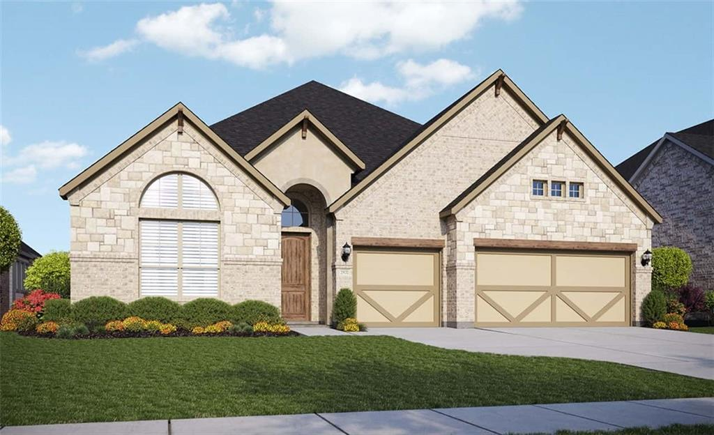 Popular Villanova floorplan with features that include bed 4 / bath 3 in lieu of flex and powder, 3' depth extension to master bed, royal san luis drop in tub, high ceilings, large kitchen island, covered patio. Available January.