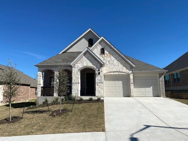 Popular Laurel plan with features that include built in appliances, bed 4 in lieu of study,, study in lieu of dining, enlarged master shower, large master walk in shower, kitchen island with granite counters. Available January.