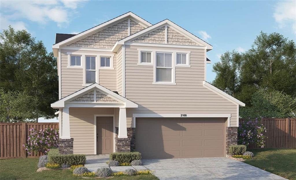 Popular meridian floor plan with features that include enlarged kitchen island with granite counters, bath 3  in lieu of bed 4 closet, bed 4 in lieu of loft upstairs, gameroom in lieu of 2 story family room, enlarged walk in master shower with seat. Available Decembe
