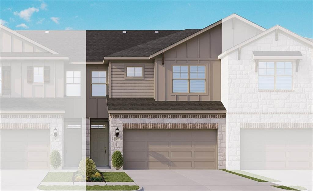 Acadia E floor plan with features that include walk in pantry, kitchen island, walk in master closet, wood patterned vinyl plank flooring, stainless steel whirlpool appliances, double vanity in master bath, bath 2 optional layout. Available March.