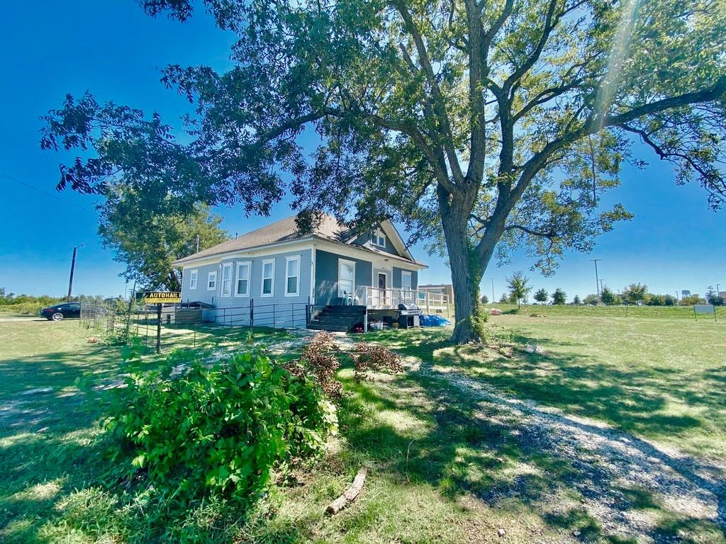 Beautiful remodeled home on 2.7 acres! Features 4 bedrooms, 3 full bathrooms with loft/flex space upstairs.  Laminate floors throughout with carpet upstairs. Open concept floor plan w/wood accent ceilings in the living room. Newly remodeled bathrooms w/upgrades.