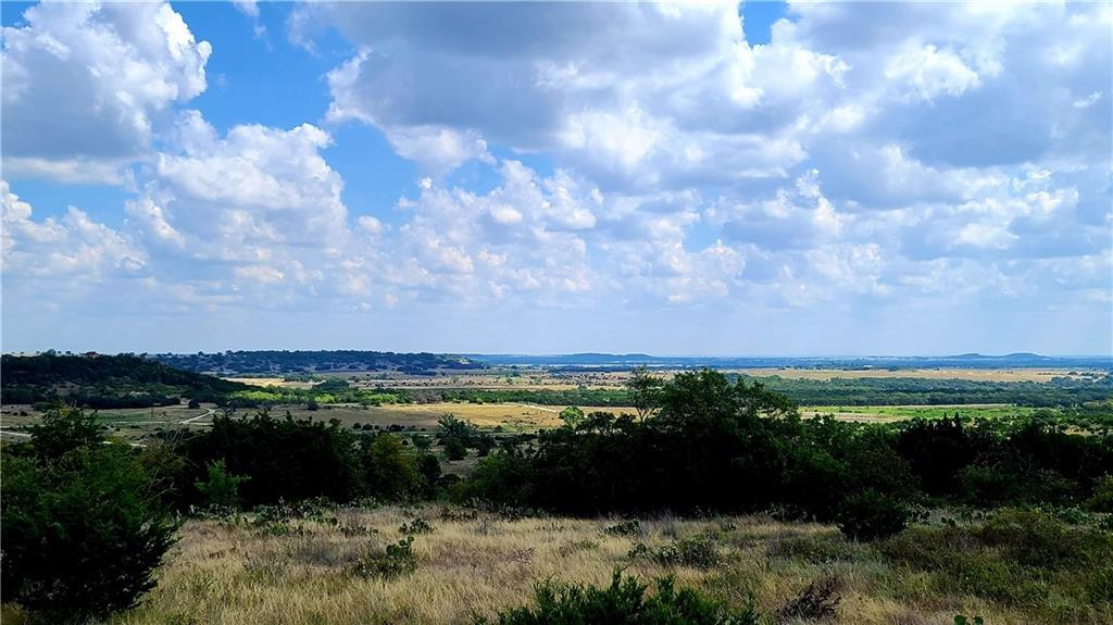 Views, views, and more views.  This tract sits on top of a mesa and you can literally see as far as the eye can see.  Put your dream home on this 10 acres in a nice secluded development and live the country life.  If your looking for a place out in the country but less than 30 minutes from Lampasas look no further.  Motivated seller, all reasonable offers considered!
