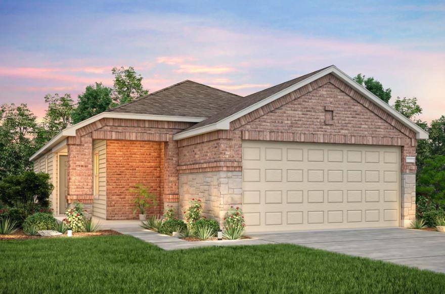 Listing Price may include Builder Incentives. NEW CONSTRUCTION BY CENTEX HOMES! Available Nov 2020! Centex model home is located at 605 Sonterra Blvd. Ask about $9,000 towards closing costs when using Pulte Mortgage!