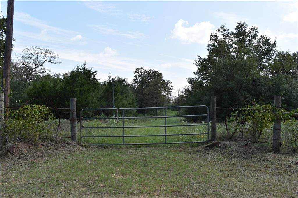A PERFECT GETAWAY PLACE.  LOTS OF PRIVACY AND PLENTY OF WILDLIFE. HUNTING LEASE POTENTIAL. MILANO WATER METER IS LOCATED NEAR THE GATE. ELECTRICTY POLE IS ON PROPERTY.