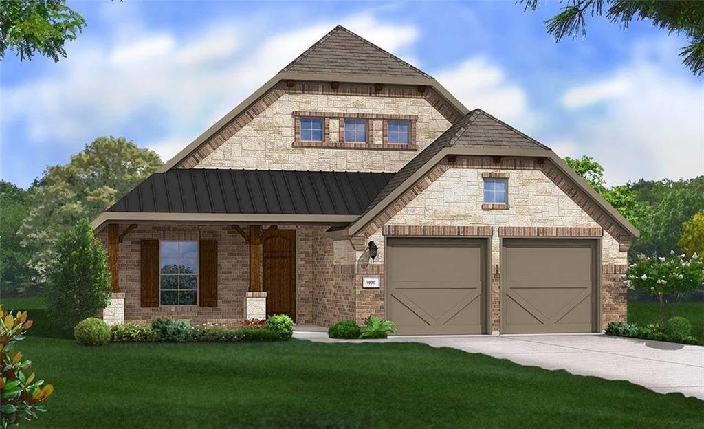 Palm Single Story Floor Plan! Featuring 4 bedrooms, 3 full bathrooms and family room. Added rear brick, upgraded kitchen layout, Granite Countertops, Custom Tile Backsplash, Covered Back Patio, Full Sprinkler/Sod in Front & Rear Yards. See Agent for Details on Finish Out. Available December.