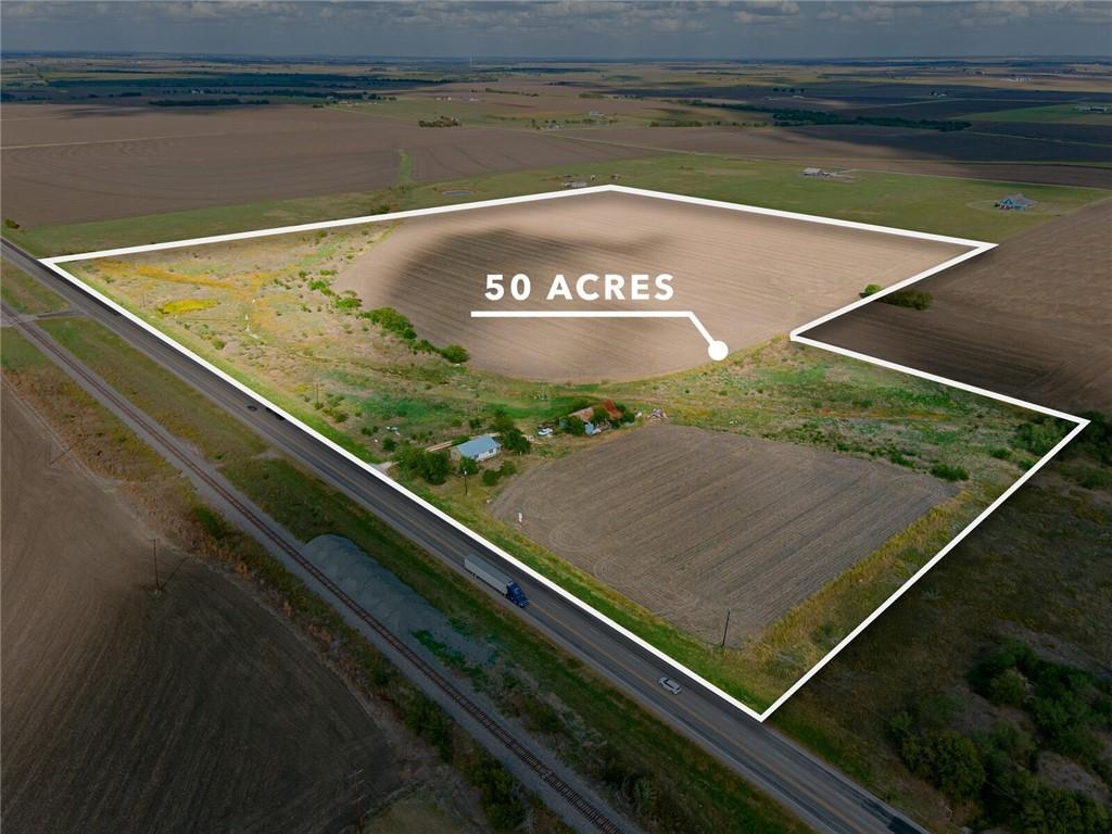 50.72 agricultural acres! Location, Location, Location! Perfect highway frontage in Granger at Hwy 95. Great opportunity for this prime location.Close to Austin,Georgetown and Temple! Currently farmland with productive crops, but could possibly be zoned for commercial.being Past tenant left everything. Buyer responsible for removal of items. House is 1.0 acre but being SOLD with the 49.72.Buyers should be aware that, because there is a guardianship involved, the Court will have to review and approve the sale after the purchase price and deed have been deposited with the title company and before those can be released.