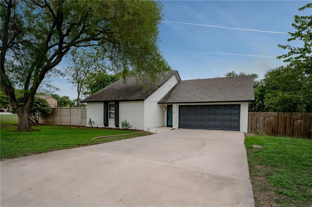 MUST SEE!  This Newly Remodeled Home comes with new paint inside & out, new flooring, updated kitchen and baths with new counter tops and backsplash.  Conveniently located off I-35, close to schools, grocery stores, and Dell Corporation.  Large shaded trees. Oversized yard with a lot of outdoor living space. Quiet neighborhood.