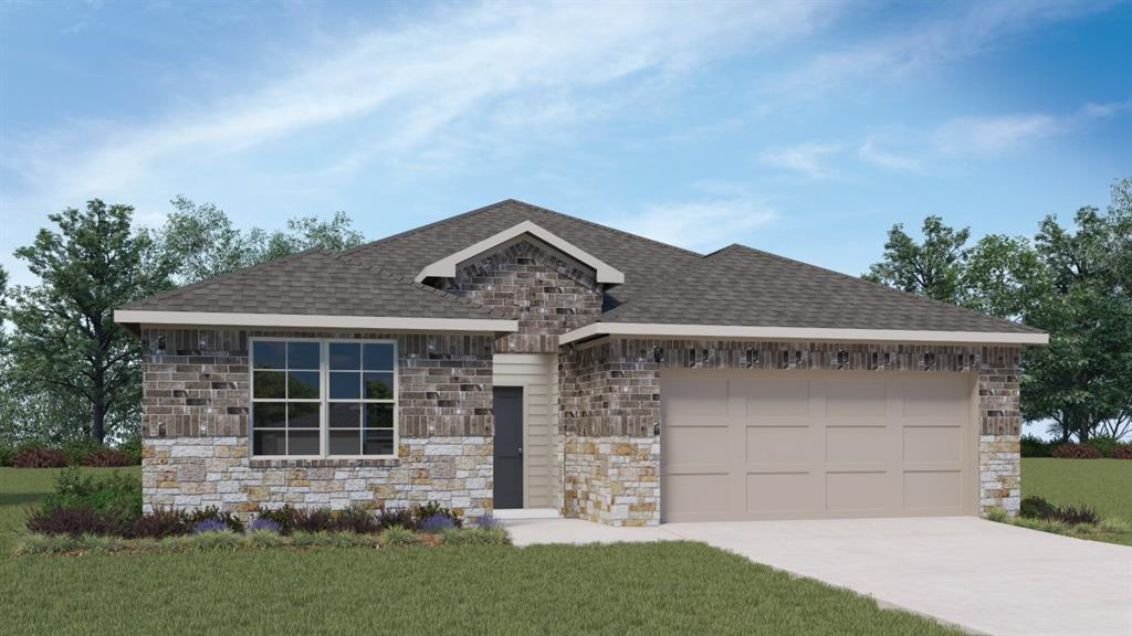 UNDER CONSTRUCTION.  New Elgin II plan ready to move into in February 2021.  4 bedrooms single story with granite and stainless island kitchen looking into the living area.  Neighborhood pool and fitness center.  Backs to dedicated parkland.